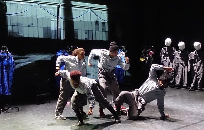 Le spectacle Usines est aussi une pièce chorégraphique de Mémoires vives, jouée ce vendredi 7 octobre à Vendenheim.