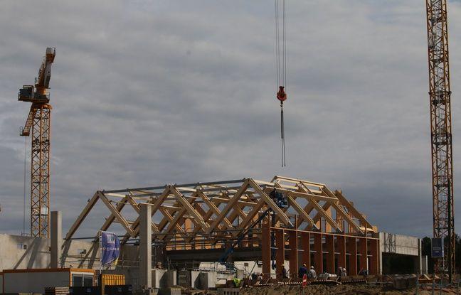Les travaux du Center Parcs des Landes de Gascogne doivent s'achever fin 2021, pour une ouverture du site programmée au printemps 2022