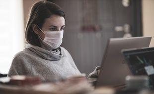 Beaucoup de salariés vont au travail malades, au risque de contaminer leurs collègues (illustration)