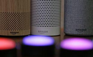 Des enceintes Echo et Echo Plus d'Amazon.