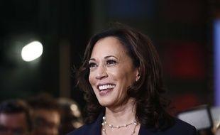 La candidate démocrate Kamala Harris le 27 juin 2019 après le premier débat télévisé à Miami, en Floride.