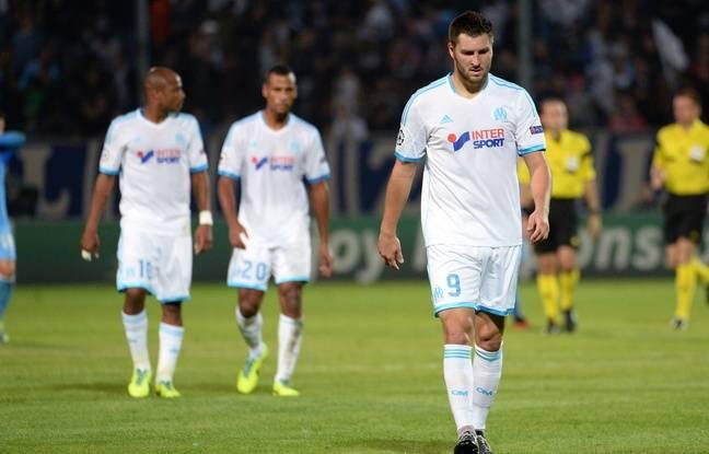 L'OM d'André-Pierre Gignac avait perdu ses trois matchs de poule lors de la Ligue des champions 2013-14.