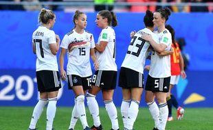 Les Allemandes se sont imposées mercredi à Valenciennes contre l'Espagne