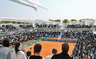 Le site du tournoi va être agrandi de plus de 60% et modernisé.