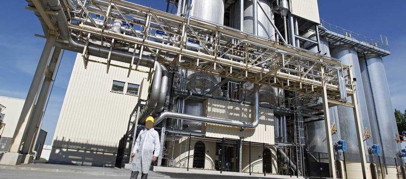 L'usine Roquette, à Lestrem, dans le Pas-de-Calais.
