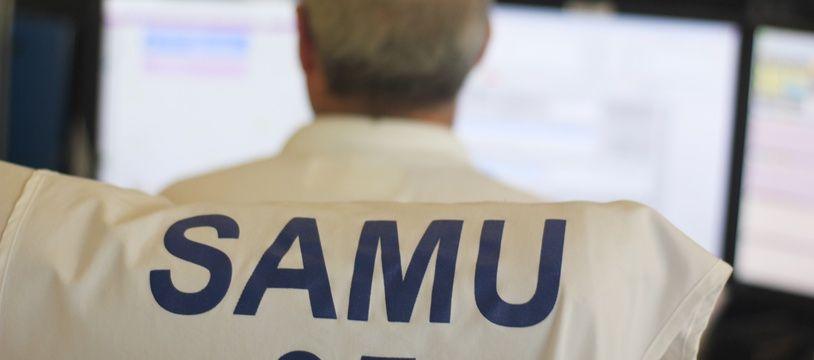Illustration d'un médecin du Samu, ici à Rennes.