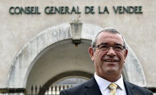 Yves Auvinet, président (DvD) du conseil départemental de Vendée.