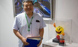 Takefumi Hyodo, responsable du projet d'archivage des documents de développement de Namco, le 18 juin 2019.
