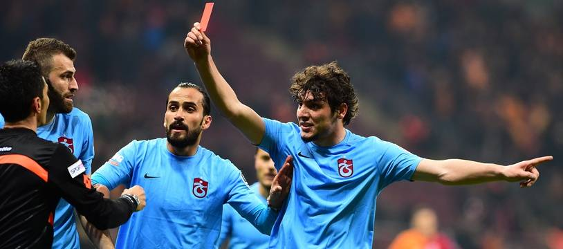 Le défenseur de Trabzonspor Salih Dursun, le 20 février 2016.