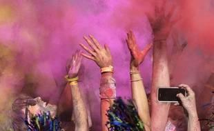 Comme lors du Color Run, le blush multiplie les couleurs.