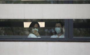 Des soignants de l'AP-HM lors de l'épidé