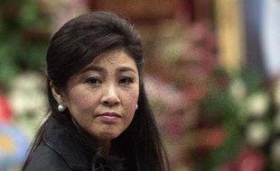 La Première ministre thaïlandaise Yingluck Shinawatra à Bangkok le 29 septembre 2014