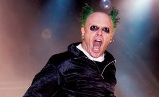 Le chanteur Keith Flint de Prodigy