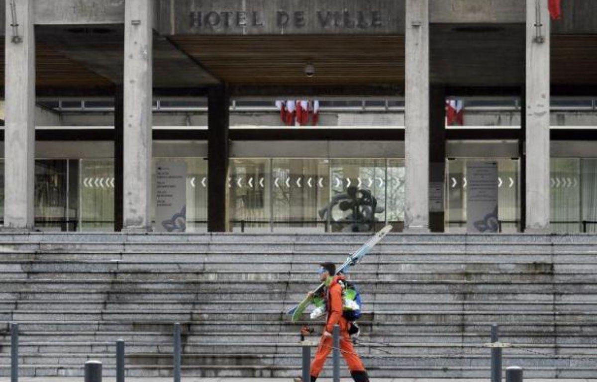 L'Hôtel de ville de Grenoble le 6 février 2014 – Philippe Desmazes AFP