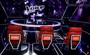 Le plateau de «The Voice Kids», saison 4.