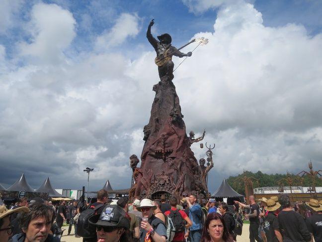 La statue de Lemmy Kilmister