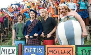 Edouard Baer etGérard Depardieu dans «Astérix et Obélix: Au service de Sa Majesté».