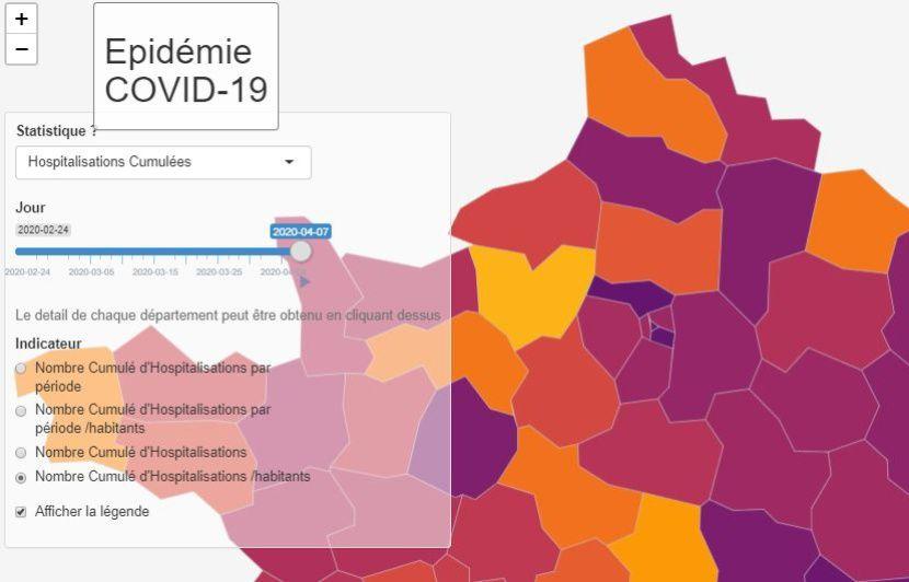 Coronavirus La Carte Interactive Des Chercheurs Et Medecins De Strasbourg Contre L Epidemie