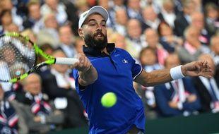 Benoît Paire s'est imposé 3 sets à 0 face à l'Espagnol Carreno Busta en demi-finale de Coupe Davis.