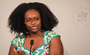 Sibeth NDiaye, porte-parole du gouvernement, le 3 juillet 2019 à l'Elysée.