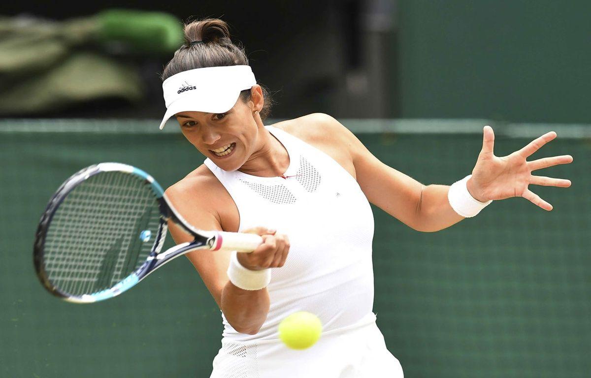 L'Espagnole Muguruza s'est qualifiée pour sa deuxième finale à Wimbledon – Noriaki Sasaki/AP/SIPA
