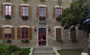La façade de la mairie de Saint-Genis-les-Ollières (69)