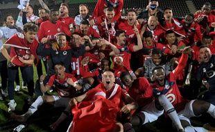 La joie des Lillois sacrés champions de France