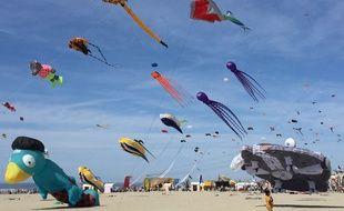 Les 32èmes rencontres internationales de cerf-volant se déroulent à Berck-sur-Mer