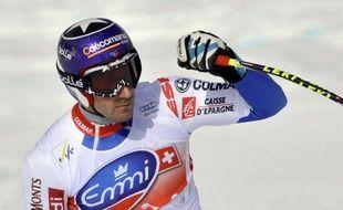 Le Français Adrien Théaux a renoué au bon endroit avec le podium de la Coupe du monde de ski alpin en se classant samedi 3e de la descente de Rosa Khutor