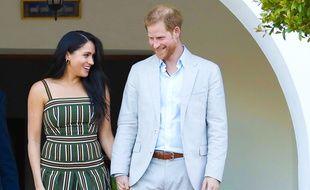 Le prince Harry et sa femme, Meghan Markle