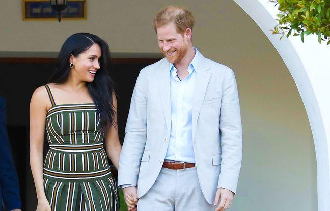 Le prince Harry et Meghan Markle aux côtés de la reine Elisabeth II pour leur dernier devoir royal