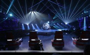 le plateau des lives de The Voice saison 3