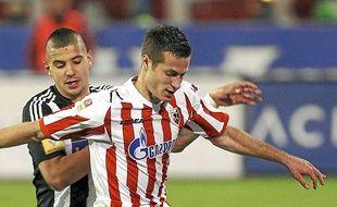 Spajic arrive de l'Etoile Rouge Belgrade, comme Vidic (Manchester United).