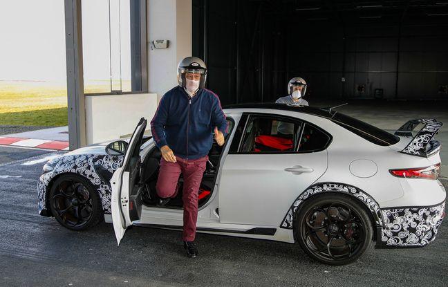 J-P Imparato découvre la Giulia GTA