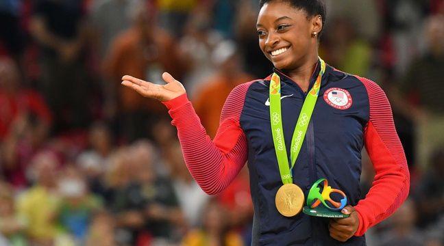 gymnastique simone biles championne olympique rio accuse le m decin de l 39 quipe am ricaine. Black Bedroom Furniture Sets. Home Design Ideas