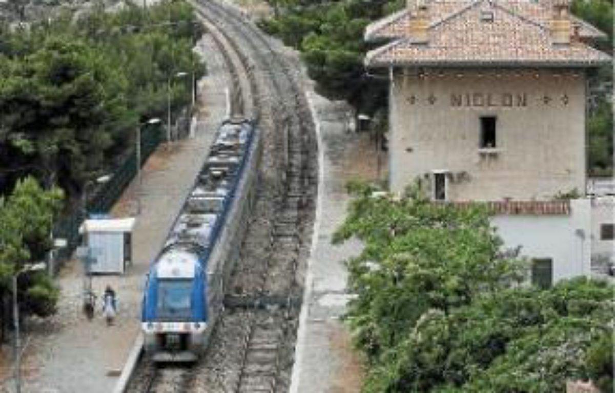 Depuis 2001, 14 accidents ont eu lieu sur la ligne reliant Marseille à Miramas. –  P.MAGNIEN / 20 MINUTES