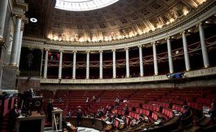 L'hémicycle de l'Assemblée nationale. (illustration)
