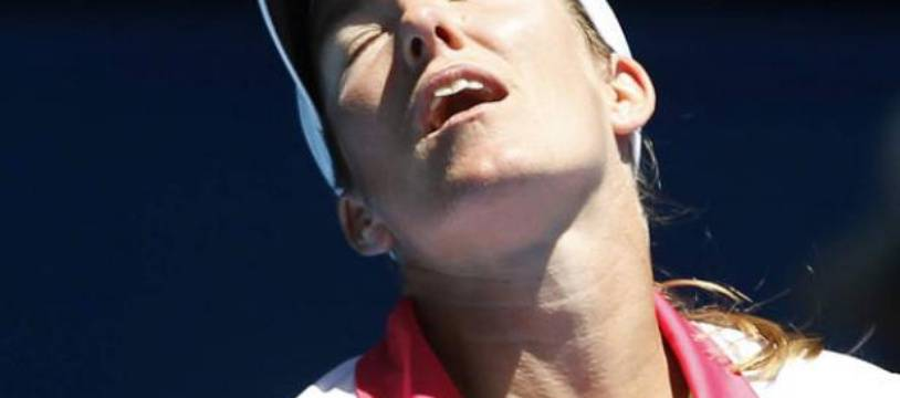 Justine Henin, ici à l'Open d'Australie en janvier 2011, arrête définivement sa carrière