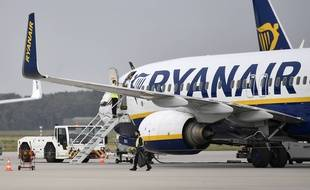 Un avion Ryanair (photo d'illustration).