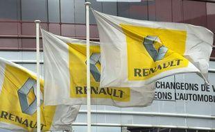Le siège de Renault à Boulogne-Billancourt le 7 février 2013.