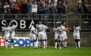 Le club d'Amiens fait ses premiers pas en Ligue 1