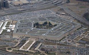 Vue aérienne du Pentagone, à Arlington en Virginie.