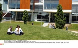 Le campus de l'UVSQ ( Universite de Versailles Saint-Quentin à Guyancourt.