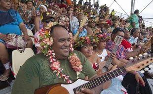 4 750 Polynésiens ont participé à l'événement.