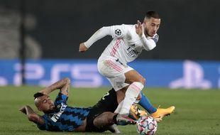 Eden Hazard face à l'Inter
