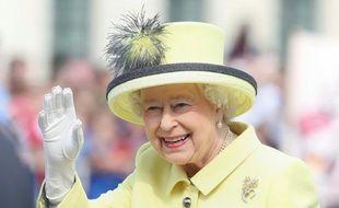 La reine d'Angleterre, Elizabeth II, le 26 juin 2015 à Berlin