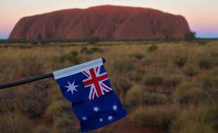 Illustration d'un drapeau australien.