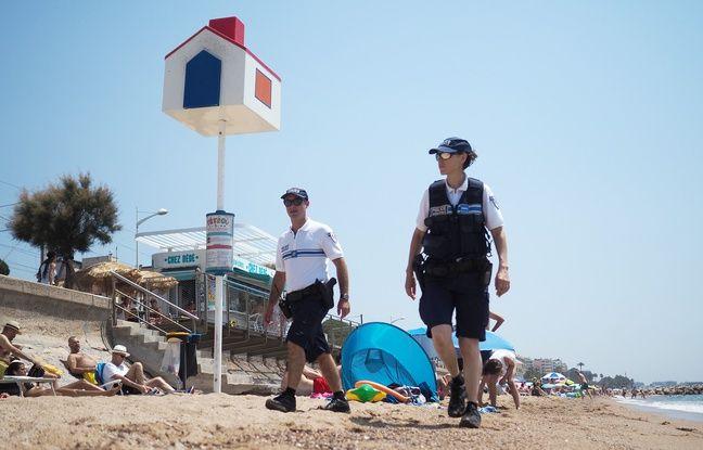 Cannes: La police patrouille (aussi) sur le sable avec la nouvelle «brigade des plages»