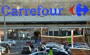 Un hypermarché Carrefour (Illustration).