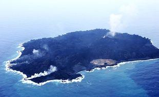 L'île de Nishinoshima, au Japon, le 14 novembre 2014.